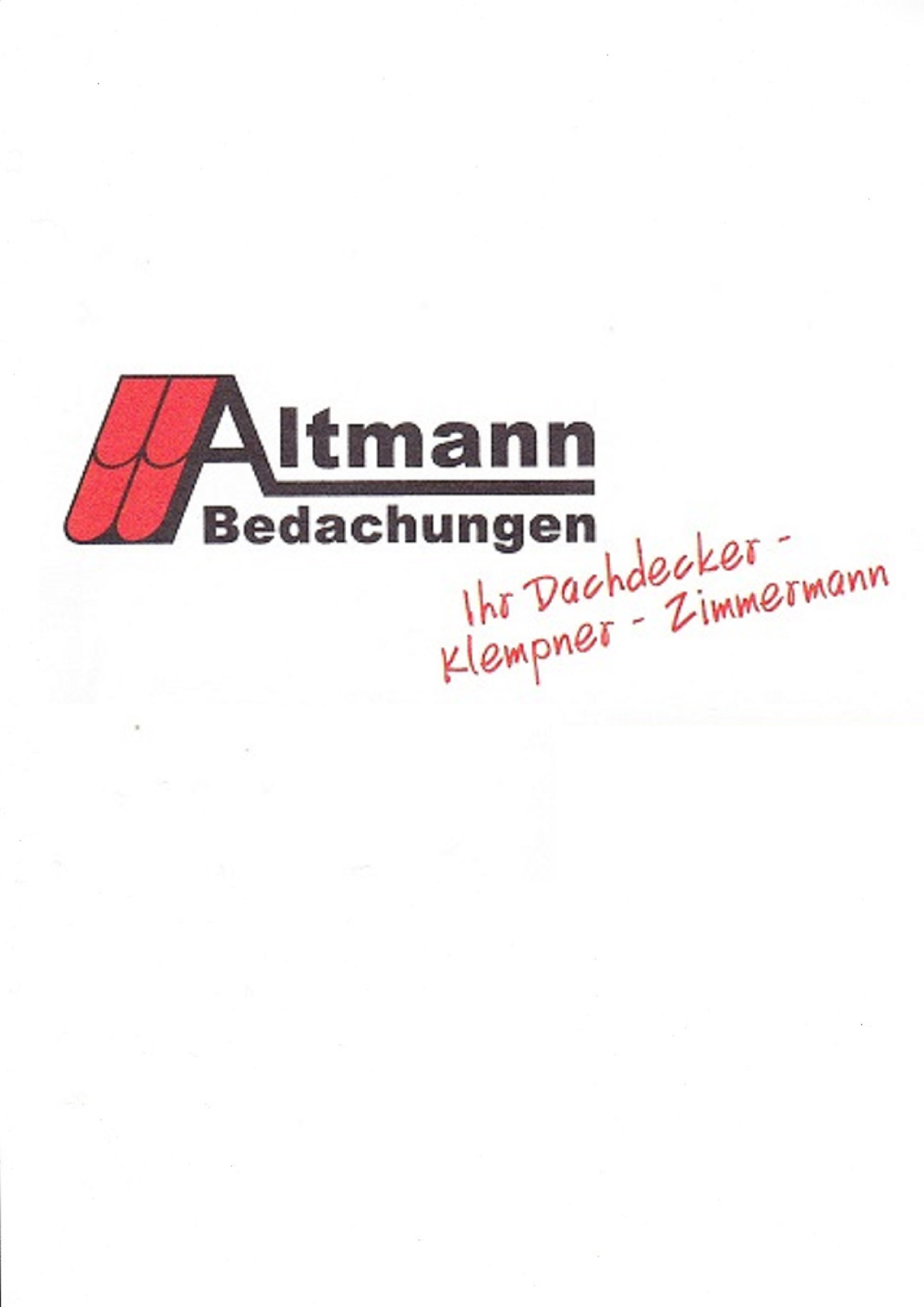 Altmann Bedachungen